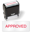 Approved Quality Control Self Inking Stamp