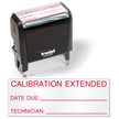 Calibration Extended date Inspection Stamp Self Inking