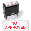Not Approved QC Stamp Self inking