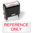 Reference Only Inspection QC Self Inked Stamp